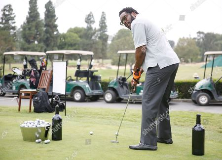 Chad L. Coleman attends the 2016 Emmys Golf Classic presented by the Television Academy Foundation at the Wilshire Country Club, in Los Angeles