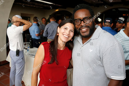 Chad L. Coleman and guest attend the 2016 Emmys Golf Classic presented by the Television Academy Foundation at the Wilshire Country Club, in Los Angeles