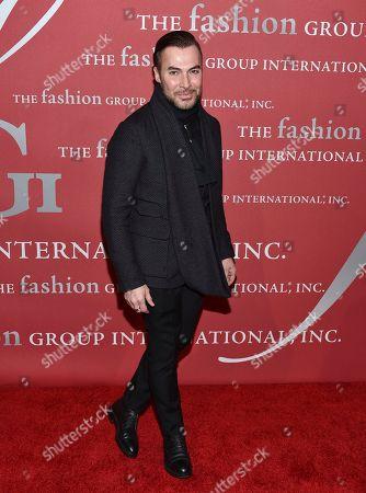 Loris Diran attends The Fashion Group International's Night of Stars Gala at Cipriani Wall Street, in New York