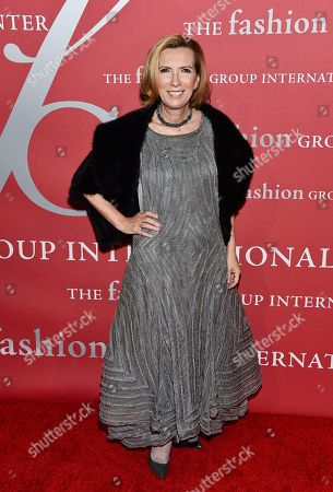 Liz Rodbell attends The Fashion Group International's Night of Stars Gala at Cipriani Wall Street, in New York