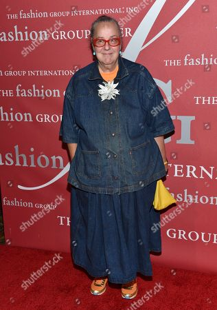 Kim Hastreiter attends The Fashion Group International's Night of Stars Gala at Cipriani Wall Street, in New York