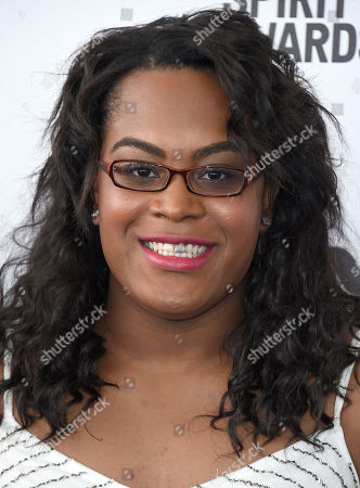 Stock Picture of Mya Taylor arrives at the Film Independent Spirit Awards, in Santa Monica, Calif