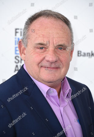 Stock Image of Paul Guilfoyle arrives at the Film Independent Spirit Awards, in Santa Monica, Calif