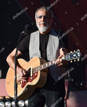 Musician Yusuf Cat Stevens performs at the 2016 Global Citizen Festival in Central Park, in New York