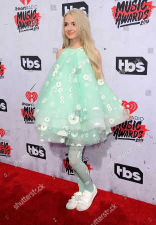 Editorial image of 2016 iHeartRadio Music Awards - Arrivals, Inglewood, USA - 3 Apr 2016