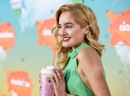 Chachi Gonzales arrives at the Kids' Choice Awards at The Forum, in Inglewood, Calif