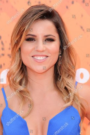 Leticia Bufoni arrives at the 2016 Kids' Choice Sports Awards held at UCLAâ?™s Pauley Pavilion, in Los Angeles