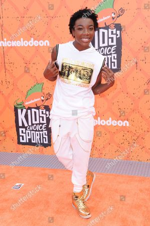 Editorial picture of 2016 Kids' Choice Sports Awards- Arrivals, Los Angeles, USA - 14 Jul 2016