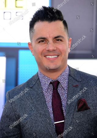 Karim Mendiburu arrives at the Latin American Music Awards at the Dolby Theatre, in Los Angeles