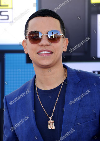 J Alvarez arrives at the Latin American Music Awards at the Dolby Theatre, in Los Angeles