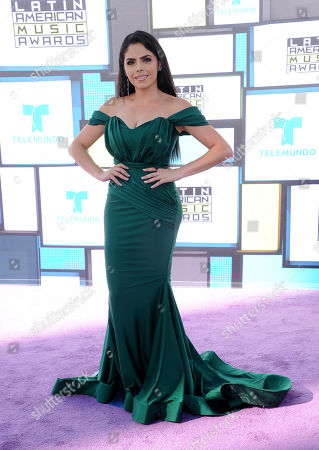 Editorial picture of 2016 Latin American Music Awards - Arrivals, Los Angeles, USA - 6 Oct 2016