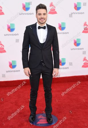 William Valdes arrives at the 17th annual Latin Grammy Awards at the T-Mobile Arena, in Las Vegas