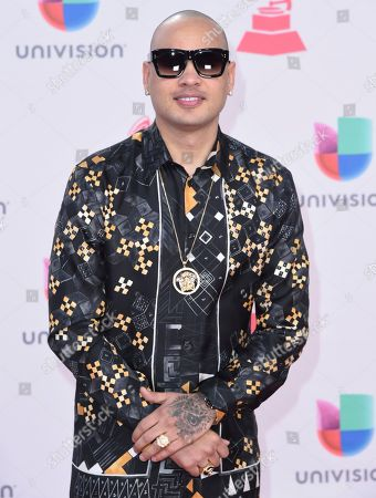 Jacob Forever arrives at the 17th annual Latin Grammy Awards at the T-Mobile Arena, in Las Vegas