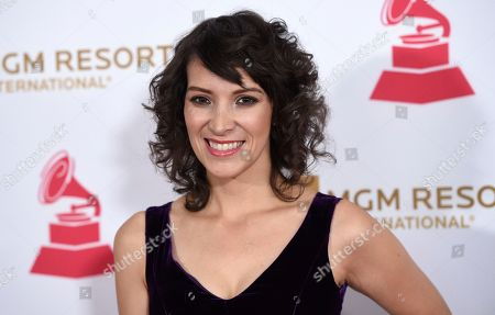 Gaby Moreno arrives at the Latin Recording Academy Person of the Year Tribute honoring Marc Anthony at the MGM Grand Garden Arena, in Las Vegas