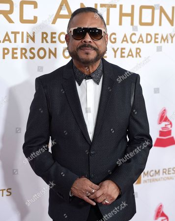 Francisco Cespedes arrives at the Latin Recording Academy Person of the Year Tribute honoring Marc Anthony at the MGM Grand Garden Arena, in Las Vegas