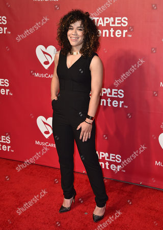 Stock Picture of Jade Hendrix arrives at the MusiCares Person of the Year tribute honoring Lionel Richie at the Los Angeles Convention Center on