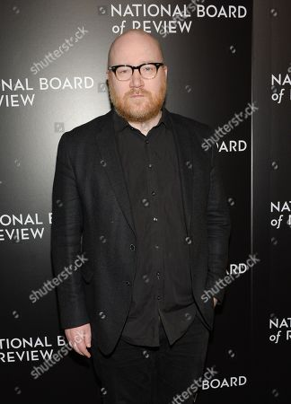 Composer Johann Johannsson attends The National Board of Review Gala, honoring the 2015 award winners, at Cipriani 42nd Street, in New York