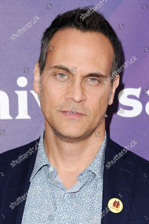 Todd Stashwick attends the 2016 NBC Universal Summer Press Day held at the Four Seasons Hotel, in Westlake Village, Calif