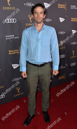 Nathan Darrow arrives at the Performers Nominee Reception presented by the Television Academy at the Pacific Design Center, in West Hollywood, Calif