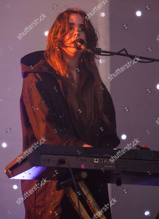 Victoria Legrand of Beach House seen at the 2016 Pitchfork Music Festival, on in Chicago
