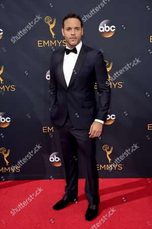 Editorial photo of 2016 Primetime Emmy Awards - Arrivals, Los Angeles, USA - 18 Sep 2016