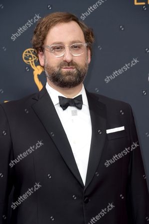 Eric Wareheim arrives at the 68th Primetime Emmy Awards, at the Microsoft Theater in Los Angeles
