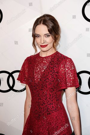 """Actress Mallory Jansen arrives at the """"Audi Celebrates The 68th EMMYS"""" Pre-Party, in West Hollywood, Calif"""