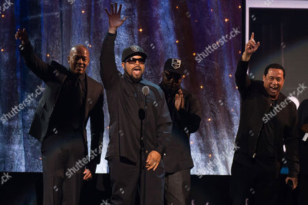 Editorial image of 2016 Rock and Roll Hall of Fame Induction Ceremony - Show, New York, USA - 8 Apr 2016