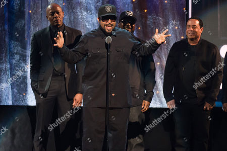 Editorial photo of 2016 Rock and Roll Hall of Fame Induction Ceremony - Show, New York, USA - 8 Apr 2016