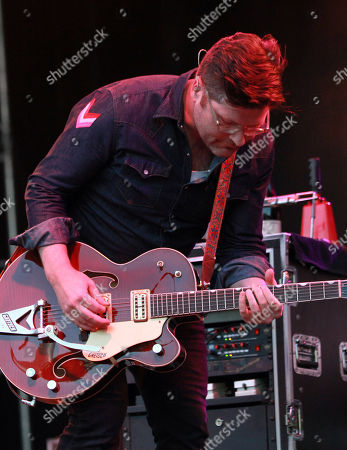 Colin Meloy with The Decemberists performs during the 2016 Shaky Knees Festival at Centennial Olympic Park, in Atlanta