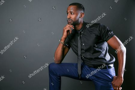 """Jackie Long, a cast member in the the TV One series """"Ringside,"""" poses for a portrait during the 2016 Television Critics Association Summer Press Tour at the Beverly Hilton, in Beverly Hills, Calif"""