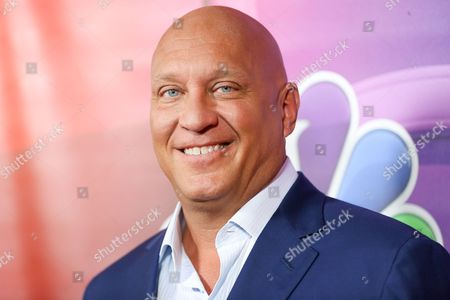 "Steve Wilkos, a cast member in the television series ""The Steve Wilkos Show,"" arrives at the NBCUniversal Television Critics Association summer press tour, in Beverly Hills, Calif"