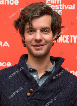 "Producer Lucas Joaquin poses at the premiere of ""Little Men"" during the 2016 Sundance Film Festival, in Park City, Utah"