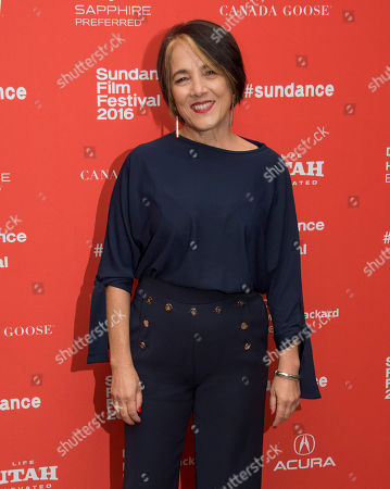 """Actress Paulina Garcia poses at the premiere of """"Little Men"""" during the 2016 Sundance Film Festival, in Park City, Utah"""