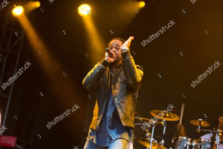 Damian 'Jr Gong' Marley performs at the 2016 The Meadows Music and Arts Festivals at Citi Field, in Flushing, New York
