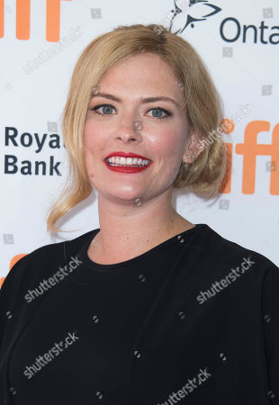 """Susannah Cahalan attends the premiere for """"Brain on Fire"""" on day 9 of the Toronto International Film Festival at the Princess of Wales Theatre, in Toronto"""