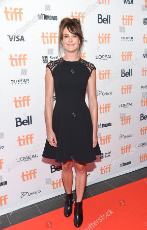Stock Photo of Actress Carolina Bartczak attends the TIFF Soiree, an annual fundraiser and celebratory kick-off for the 2016 Toronto International Film Festival, at the TIFF Bell Lightbox, in Toronto