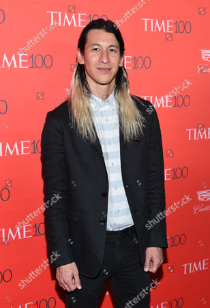 Stock Image of Kickstarter founder Perry Chen attends the TIME 100 Gala, celebrating the 100 most influential people in the world, at Frederick P. Rose Hall, Jazz at Lincoln Center, in New York