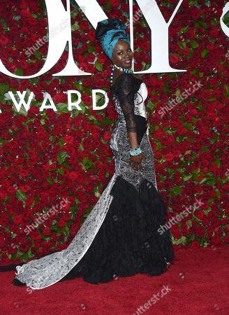 Editorial image of 2016 Tony Awards - Arrivals, New York, USA - 12 Jun 2016