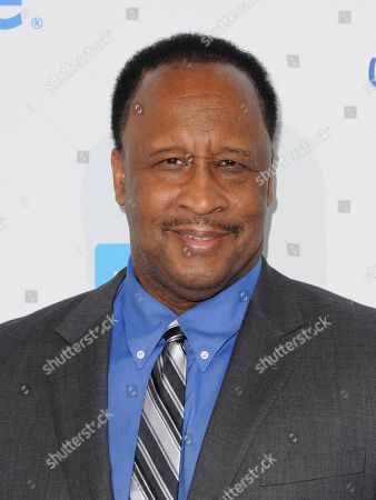 James T. Butts, Jr. arrives at WE Day California at the Forum, in Inglewood, Calif
