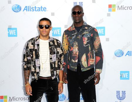 Editorial image of 2016 WE Day California - Arrivals, Inglewood, USA - 7 Apr 2016
