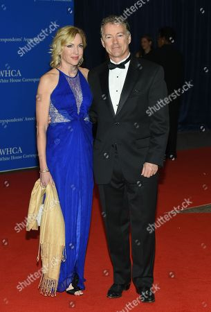 Senator Rand Paul and wife Kelley Paul attend the White House Correspondents' Association Dinner at the Washington Hilton Hotel, in Washington