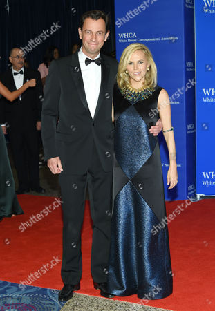 Pierre-Yves Roussel, the CEO of LVMH Fashion Group and Tory Burch attend the White House Correspondents' Association Dinner at the Washington Hilton Hotel, in Washington