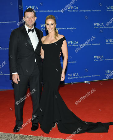 Tony Romo and wife Candice Crawford attend the White House Correspondents' Association Dinner at the Washington Hilton Hotel, in Washington