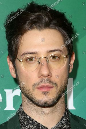 Hale Appleman arrives at the 2016 NBCUniversal Winter TCA at the Langham Huntington Hotel & Spa, in Pasadena, Calif