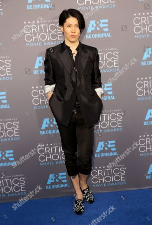 Takamasa Ishihara arrives at the 20th annual Critics' Choice Movie Awards at the Hollywood Palladium, in Los Angeles