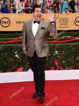 Ross Matthews arrives at the 21st annual Screen Actors Guild Awards at the Shrine Auditorium, in Los Angeles