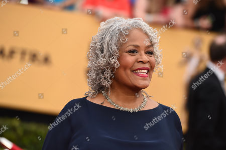 Stock Picture of Yvette Freeman arrives at the 21st annual Screen Actors Guild Awards at the Shrine Auditorium, in Los Angeles