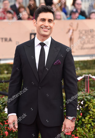 Stock Picture of Rene Ifrah arrives at the 22nd annual Screen Actors Guild Awards at the Shrine Auditorium & Expo Hall, in Los Angeles