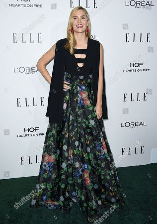 Laura Kirkpatrick arrives at the 23rd annual ELLE Women in Hollywood Awards at the Four Season Hotel, in Los Angeles